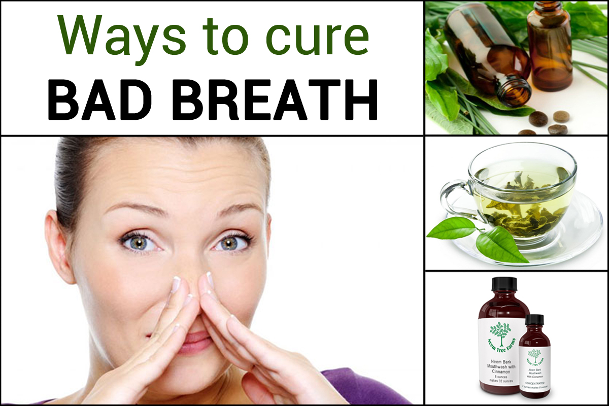 Ways to cure bad breath | Cedar dental care