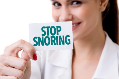 Female snoring how to stop it